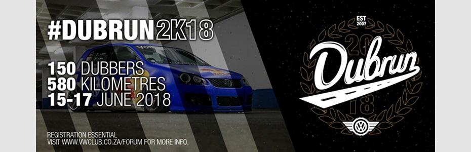 VWCSA presents #DubRun2k18